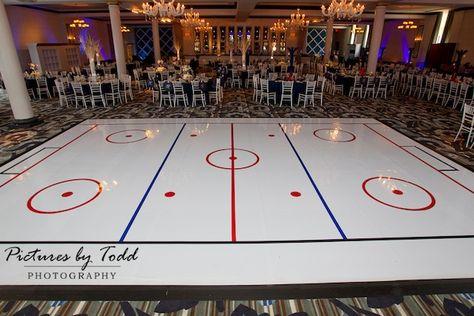 Hockey Sports Theme Bar Mitzvah