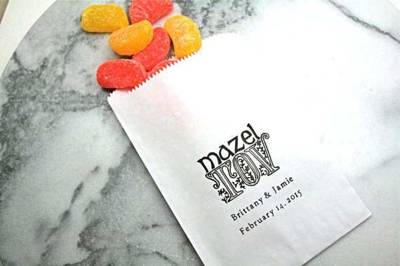 Candy Bag Jewish Wedding Favor