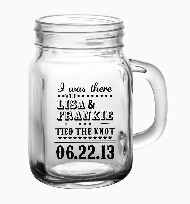 Mason Jar Wedding Favor