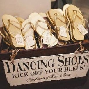 Dancing Shoes Wedding Favor