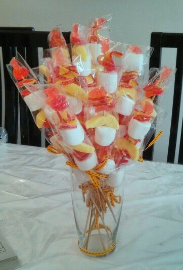 Candy Kebobs For Bat Mitzvah