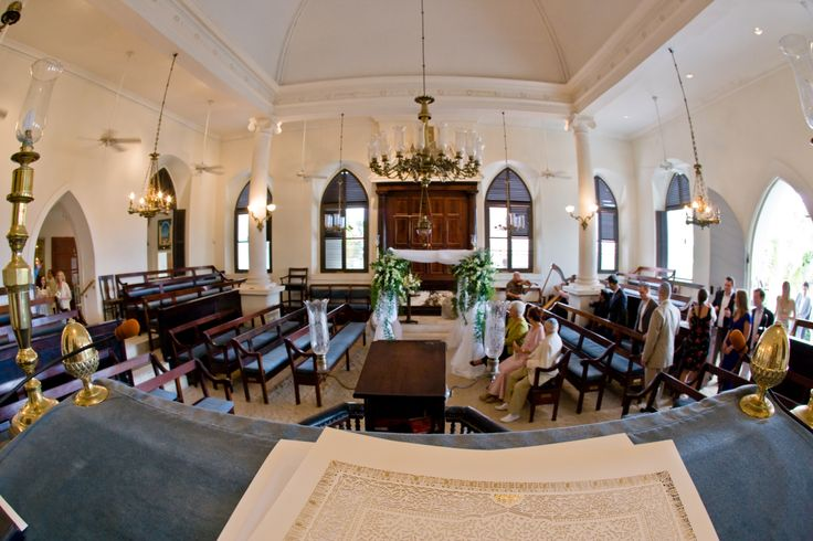 St. Thomas Synagogue Jewish Wedding