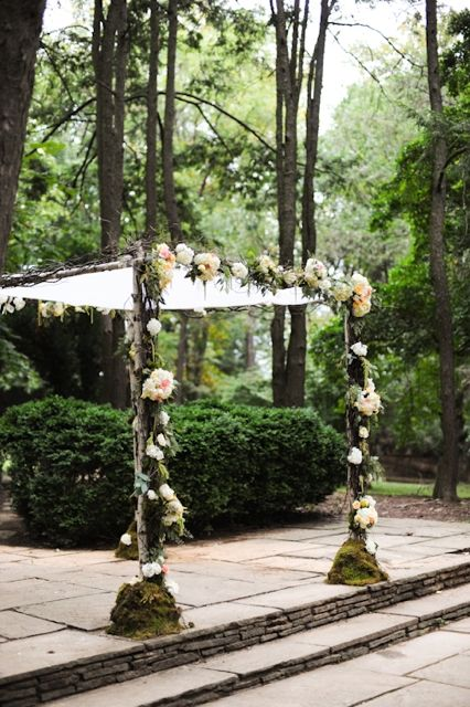 Makeshift Chuppah
